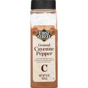 First Street Cayenne Pepper, Ground