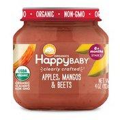 Happy Baby Apples, Mangos & Beets