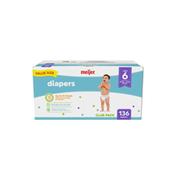 Meijer Premium Baby Diapers Size 6
