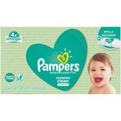 Pampers Baby Wipes Complete Clean Unscented