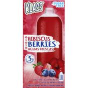 Klass Aguas Frescas, Hibiscus Berries, On the Go Packets