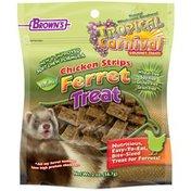 Brown's Tropical Carnival Chicken Strips Ferret Treats