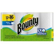 Bounty Basic Select-A-Size Paper Towels, White, Big Rolls