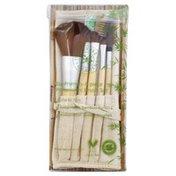 Honeybee Gardens Brush Set, Professional, Eco-Friendly, 6 Piece