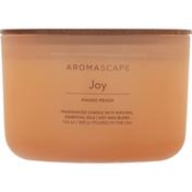 Aromascape Candle, Joy, Mango Peach