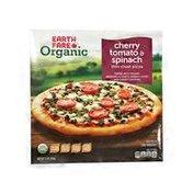 Earth Fare Cherry Tomato Spinach Organic Pizza