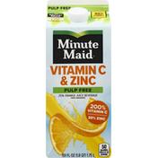 Minute Maid 25% Juice Beverage, Orange, Pulp Free