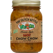 The Dutch Kettle Chow Chow, Hot, Home Style