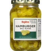Hy-Vee Pickles, Hamburger, Dill Slices