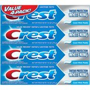 Crest Tartar Protection Whitening Cool Mint Toothpaste