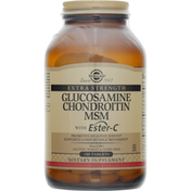 Solgar Glucosamine Chondroitin MSM, with Ester-C, Extra Strength, Tablets