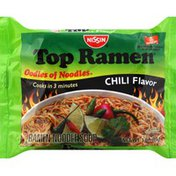 Nissin Top Ramen Noodle Soup, Chili Flavor