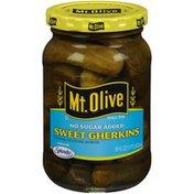 Mt. Olive No Sugar Added Sweet Gherkins Pickles