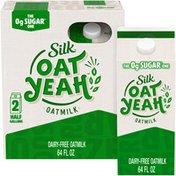 Silk Oat Yeah The 0g Sugar One Oatmilk