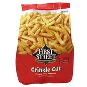 First Street Crinkle Cut French Fried Potatoes