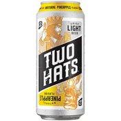 Two Hats Natural Pineapple Crisp Light Beer