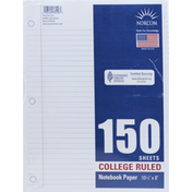 Norcom Notebook Paper, College Ruled