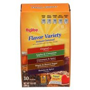 Hy-Vee Flavor Variety Instant Oatmeal
