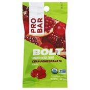 Probar Energy Chews, Organic, Cran-Pomegranate Flavor