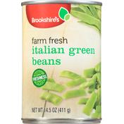 Brookshire's Green Beans, Farm Fresh, Italian