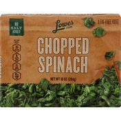 Lowes Spinach, Chopped