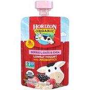 Horizon Organic Berries, Oats & Chia Lowfat Yogurt