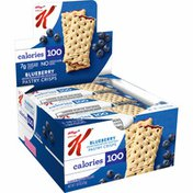 Kellogg's Special K Pastry Crisps, Anytime Snack, Blueberry