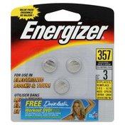 Energizer Batteries, Silver Oxide, 357, 1.55 V