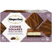 Haagen-Dazs Vanilla Ice Cream Cookie Squares