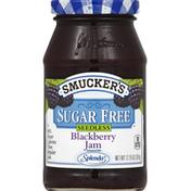 Smucker's Jam, Sugar Free, Blackberry, Seedless