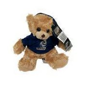 "Bleacher Creatures 9"" NFL Sport Los Angeles Rams Christmas Holiday Hoodie Bear for Kids"