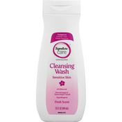 Signature Care Cleansing Wash, Sensitive Skin, Fresh Scent