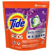 Tide Pods Plus Febreze Liquid Laundry Detergent Pacs, Spring & Renewal