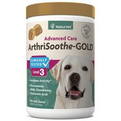 NaturVet ArthriSoothe-GOLD Advanced Care Level 3 Soft Chews