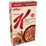 Kellogg's Special K Breakfast Cereal, Apple Cinnamon Crunch, Low Fat