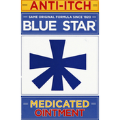 Blue Star Medicated Itch Ointment with Soothing Aloe, Original Formula