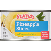 Stater Bros. Markets Pineapple Slices, in Pineapple Juice