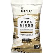 Epic BBQ Pork Rinds, Keto Friendly, Paleo Friendly, Gluten Free