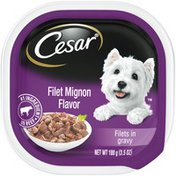 CESAR Filet Mignon Flavor Filets in Gravy Canine Cuisine