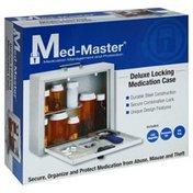 Med Master Medication Case, Deluxe, Locking