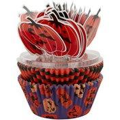 Wilton Halloween Pumpkin Cups & Picks