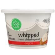 Food Club Original Whipped Cream Cheese Spread