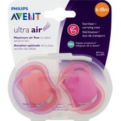 Philips Pacifiers, Ultra Air, Avent