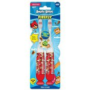 Angry Birds Firefly Soft Toothbrush Value Pack