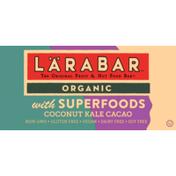 Larabar Organic with Superfroods Coconut Kale Cacao  Bars