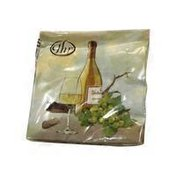 Ideal Home Range 3-Ply A Good Wine Cocktail Napkin