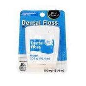 Best Choice Waxed Dental Floss