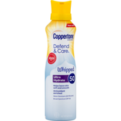 Coppertone Sunscreen Whipped Ultra Hydrate SPF 50