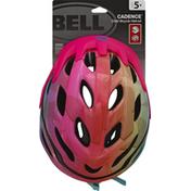 Bell Bicycle Helmet, Rainbow, Cadence, Child