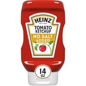 Heinz No Salt Added Ketchup Tomato